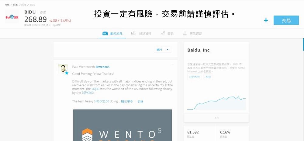 eToro, 場外投資,選擇權,比特幣,虛擬貨幣,高槓桿,保證金交易