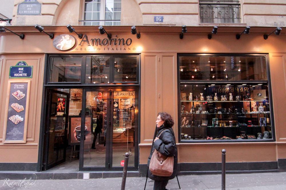 法國,巴黎,天使冰淇淋, Amorino Gelato Italiano,私房景點,莎士比亞書店
