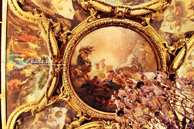 [365Plan] #031  法國巴黎 凡爾賽宮 天花板畫作 – 每個人的身上都有值得發掘的價值,妳找到自己的嗎?