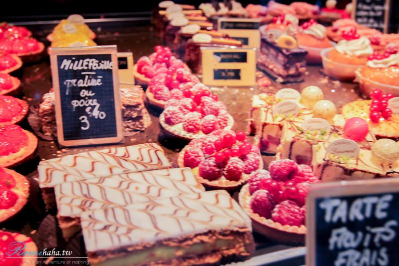 [巴黎|美食] -蒙馬特甜點店Maison Laurent Boulanger Patissier-總是擠滿在地法國人排隊