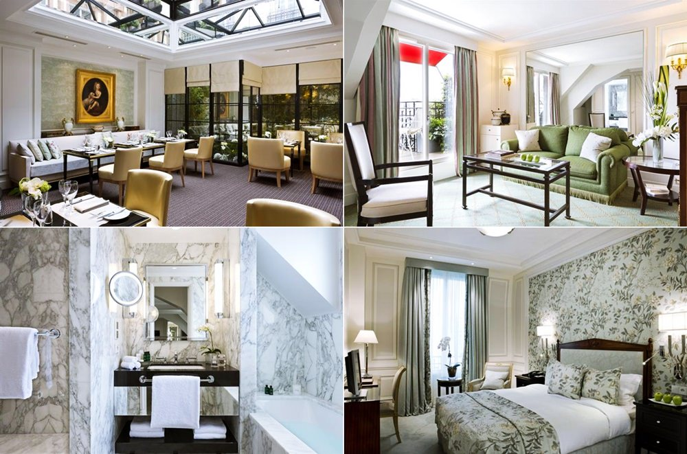 巴黎-蜜月-飯店推薦-五星級-Regis-hotel