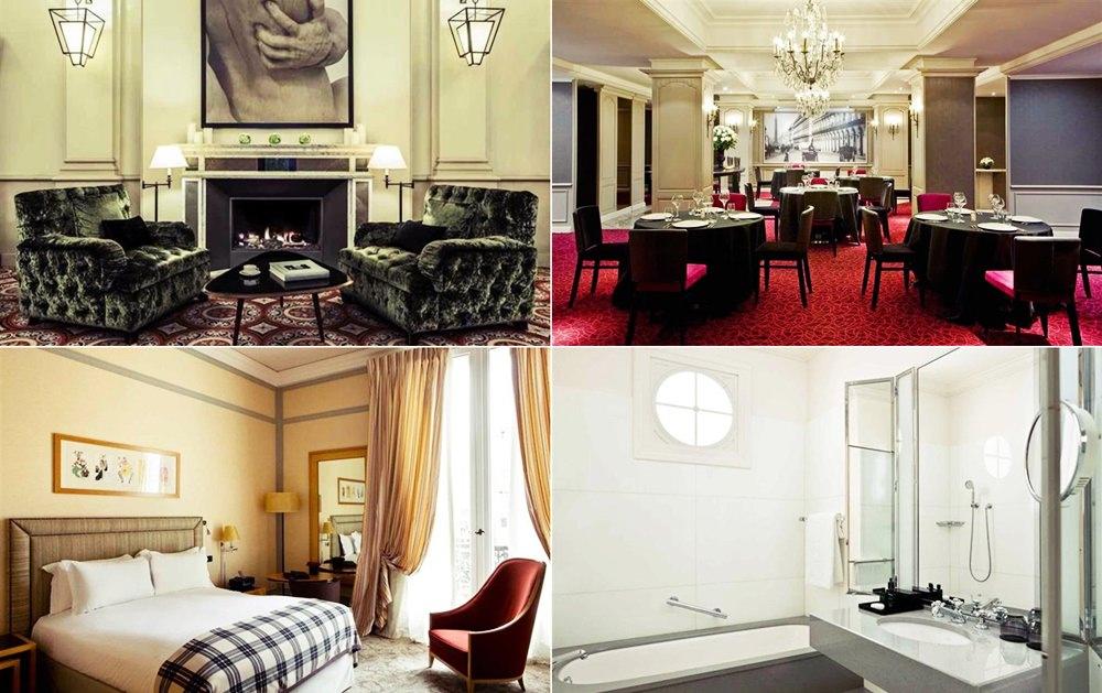 巴黎-蜜月-飯店推薦-五星級-Scribe-hotel