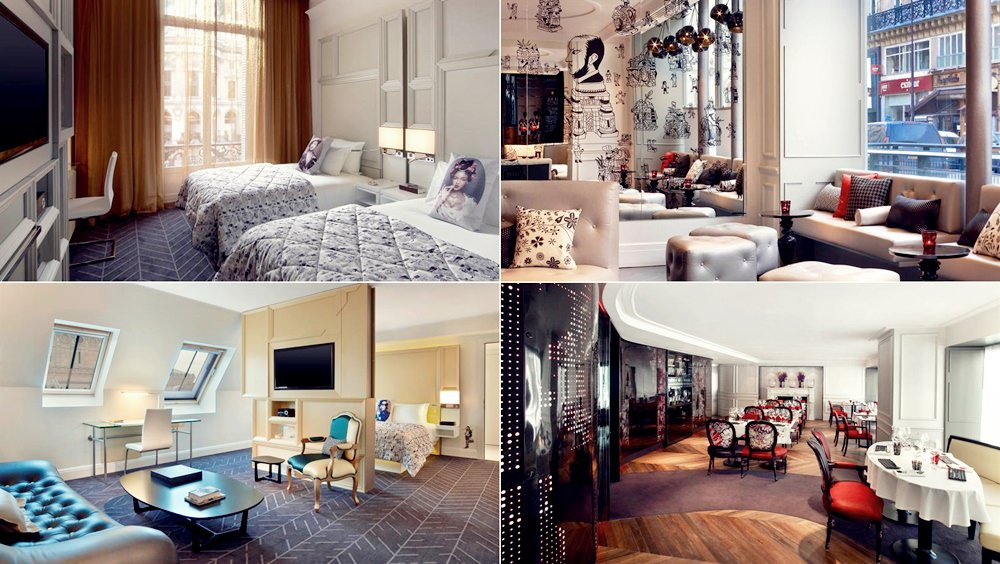 巴黎-蜜月-飯店推薦-五星級-W-Paris-Hotel