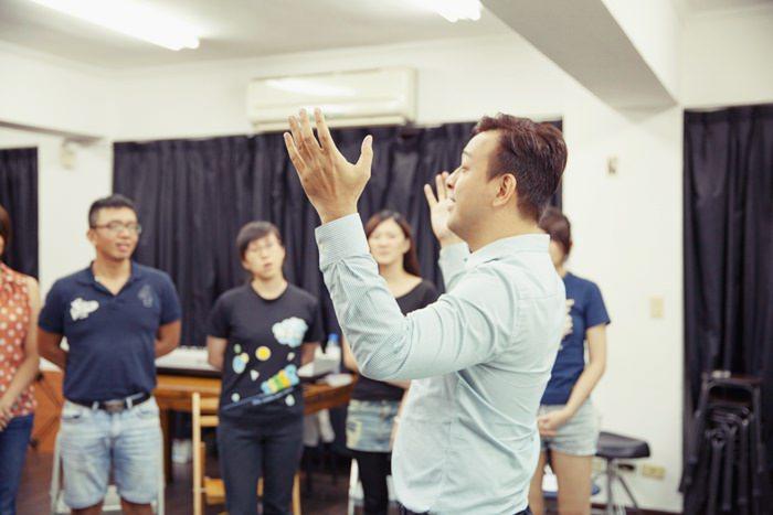 果陀劇場-演唱技巧-阿卡貝拉-音樂劇-演員-訓練班