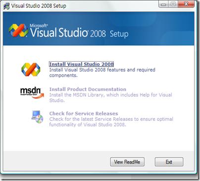 [程式] Visual Studio 2008安裝教學