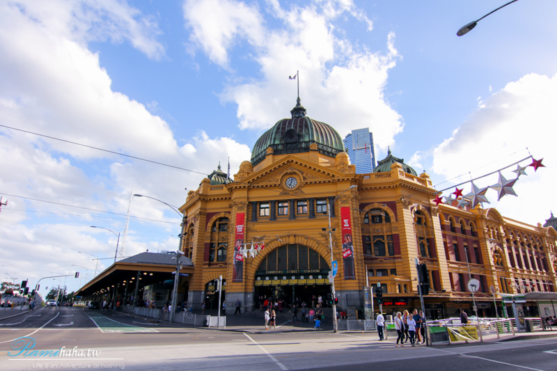 Melbourne-景點-菲林車站-墨爾本