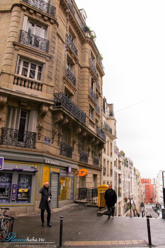 Caulaincourt Square Hostel-青年旅館-飯店-酒店-住宿推薦-巴黎-蒙馬特-聖心堂附近街景