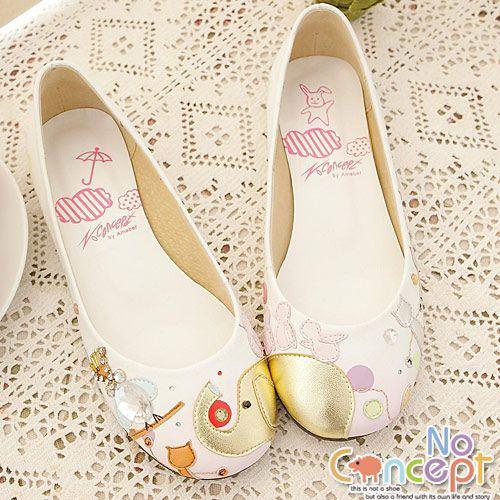 [台灣好生活] 服飾類─NoConcept 童話風手工羊皮鞋